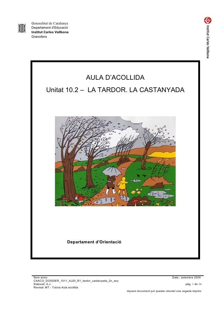 Caaco dossier 1011_aj20_r1_tardor_castanyada_2n_any