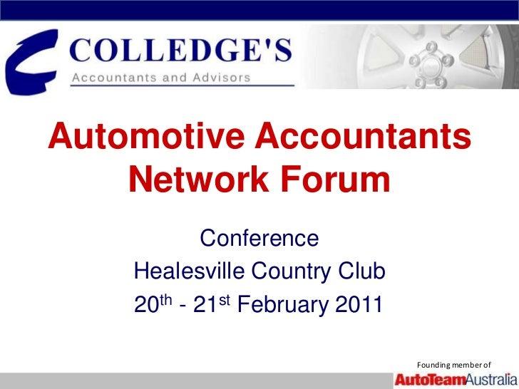 CAANF Conference Presentation 21-02-2011