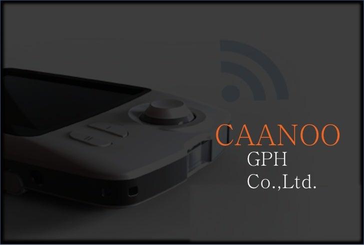 GPH Co.,Ltd.  CAANOO