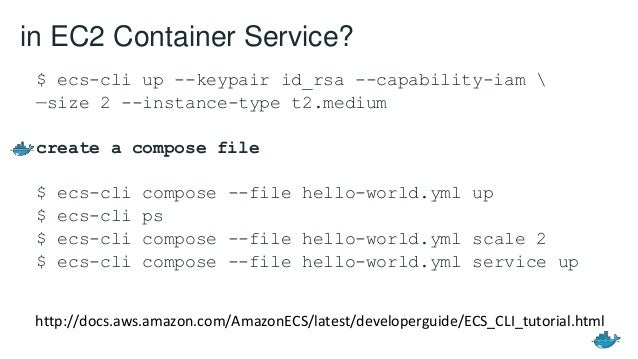 Containers as a Service with Docker