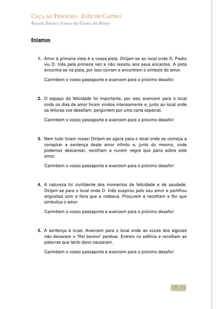 Caça Tesouro Vasco Da Gama Sines
