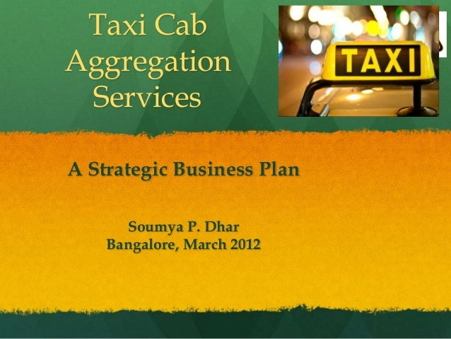taxi business plan in bangalore