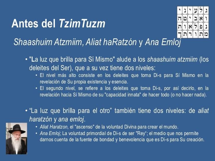 """Antes del TzimTuzmShaashuim Atzmiim, Aliat haRatzón y Ana Emloj   • """"La luz que brilla para Sí Mismo"""" alude a los shaashui..."""