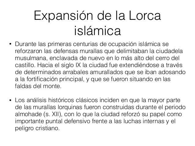 Construcción del castillo de Lorca • Este castillo medieval fue construido entre los siglos IX y XV.