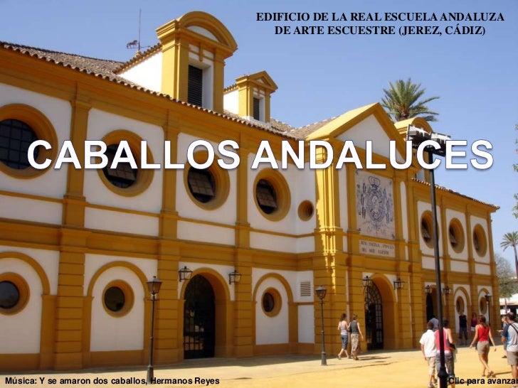 EDIFICIO DE LA REAL ESCUELA ANDALUZA                                                      DE ARTE ESCUESTRE (JEREZ, CÁDIZ)...
