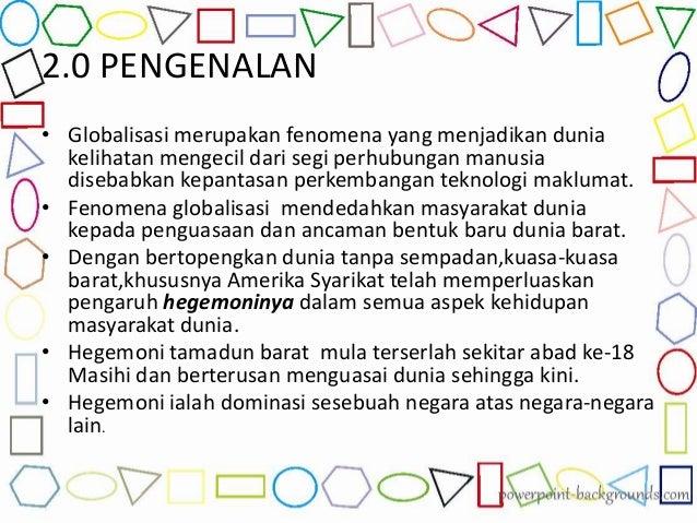 Kesimpulan membendung kesan kesan globalisasi kepada masyarakat malaysia