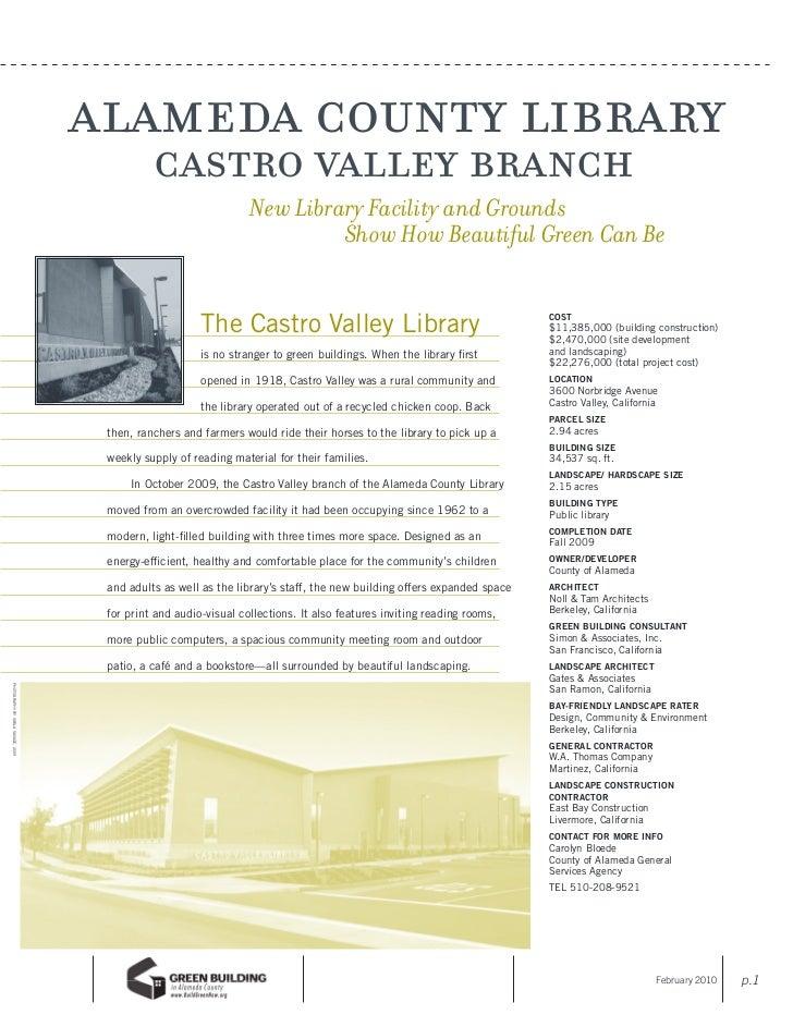 alameda county library                                               castro valley branch                                 ...