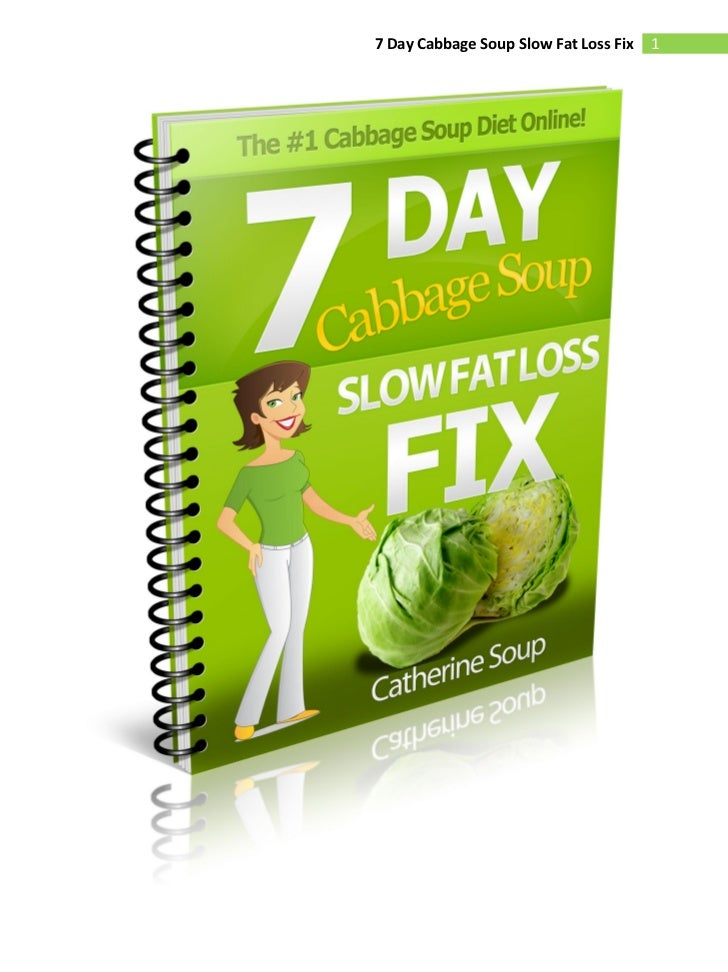 powerpoint for the cabbage soup diet