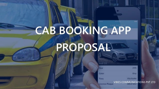 cab booking app