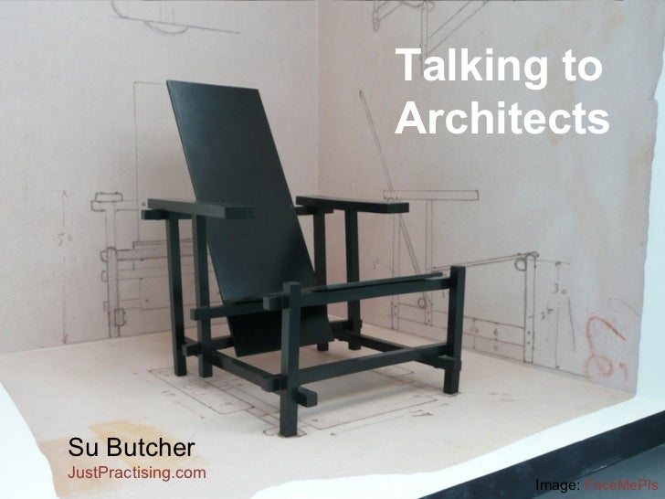 Talking to Architects Su Butcher JustPractising .com  Image:  FaceMePls