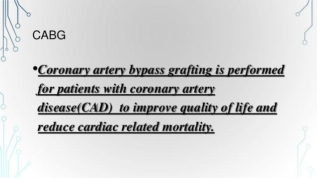CABG on CARDIOPULMONARY BYPASS   Slide 2