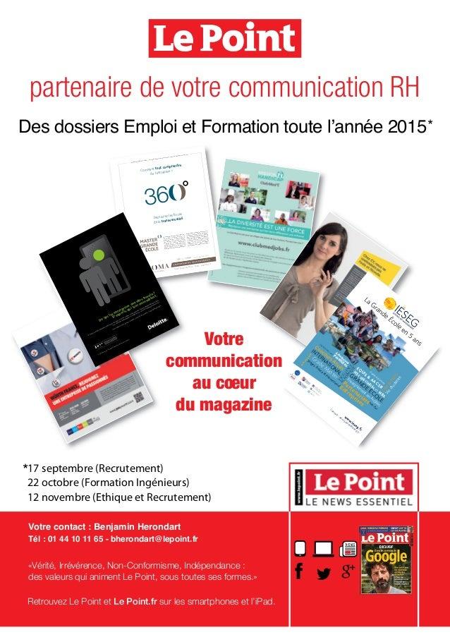 Cabinet caa tch 2015 - Cabinet de recrutement communication ...