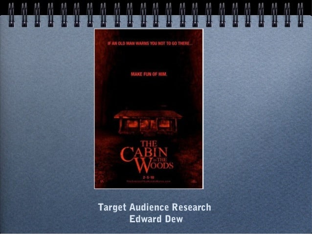 Target Audience Research Edward Dew
