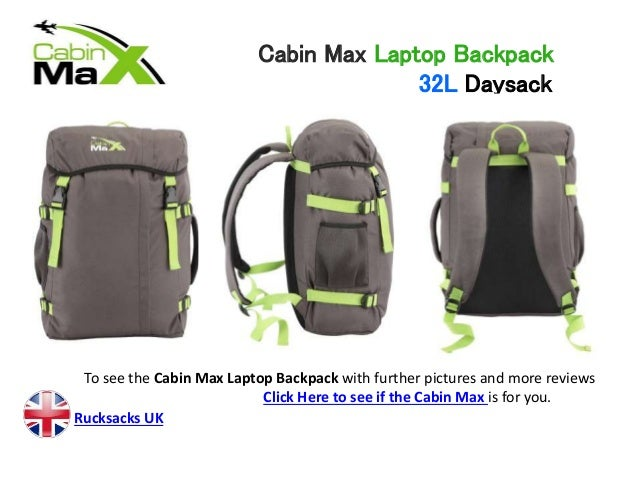 Cabin Max Laptop Backpack Review