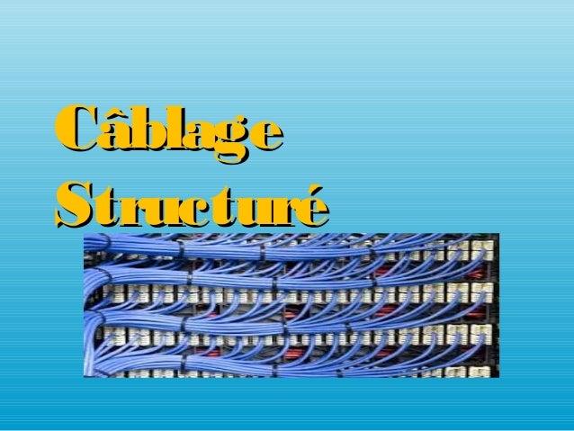 CâblageCâblage StructuréStructuré
