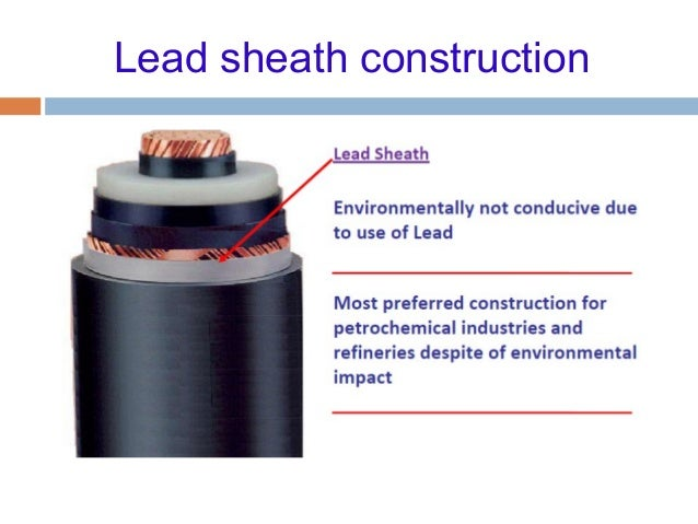 Lead Sheath Cable : Lead sheathed wiring types of