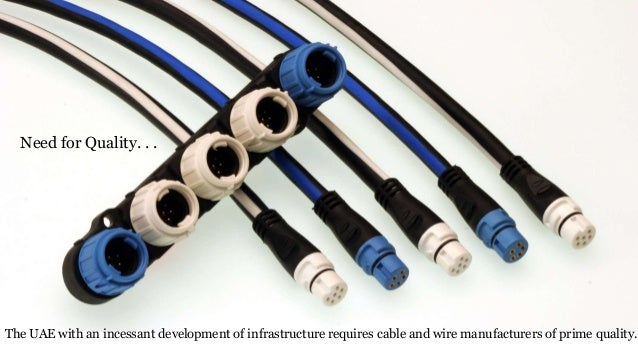 Wire And Cable Manufacturers : Cable and wire manufacturers in uae
