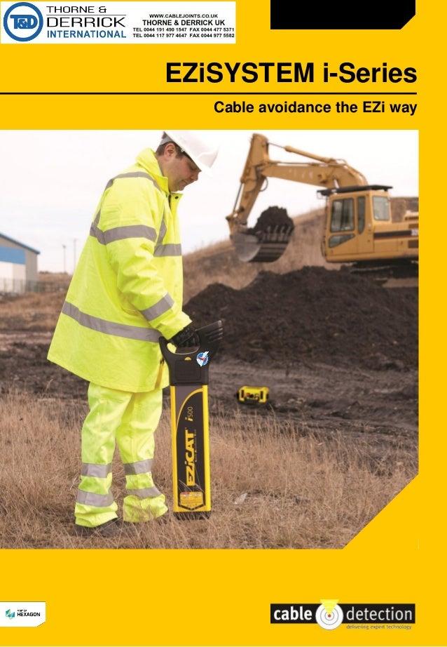 Cable detection ezisystem i series ezicat cable - Detector de cables ...