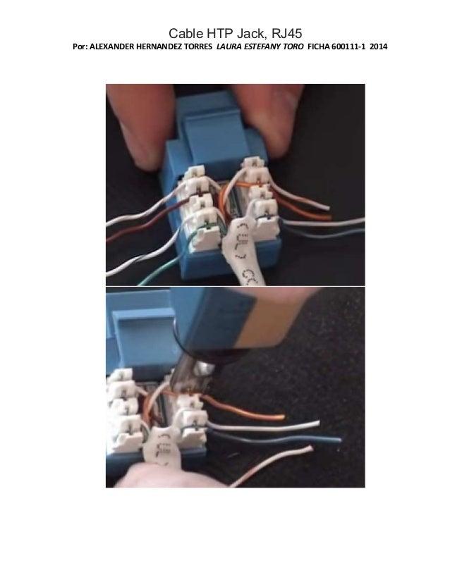 Cable htp jack, rj45 Slide 3