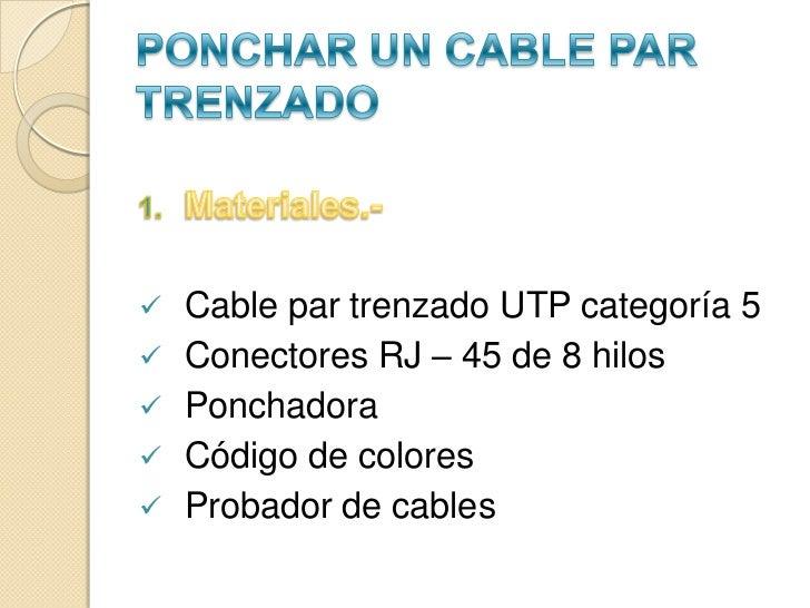 Cable par trenzado Slide 2