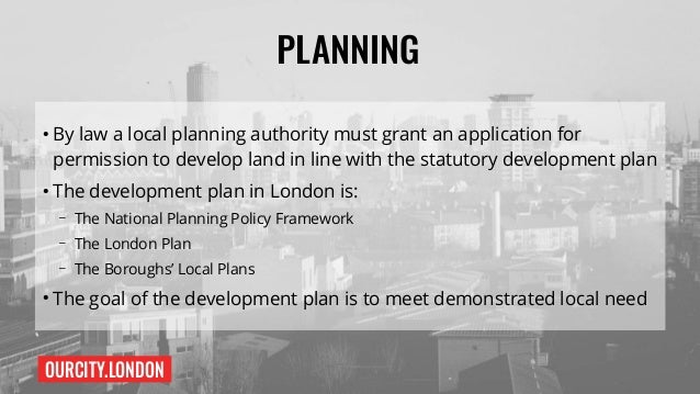 Planning and Housing  Slide 2