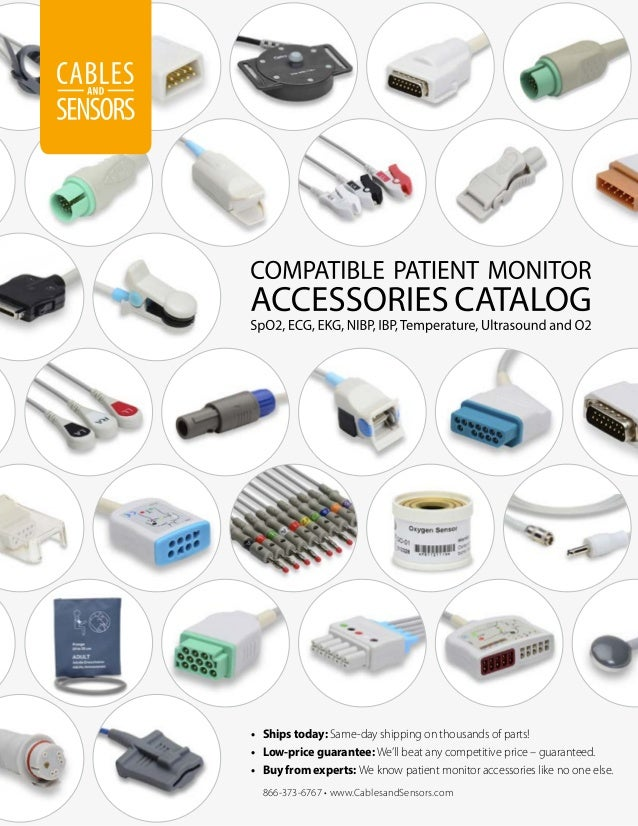 Cables and Sensors Catalog