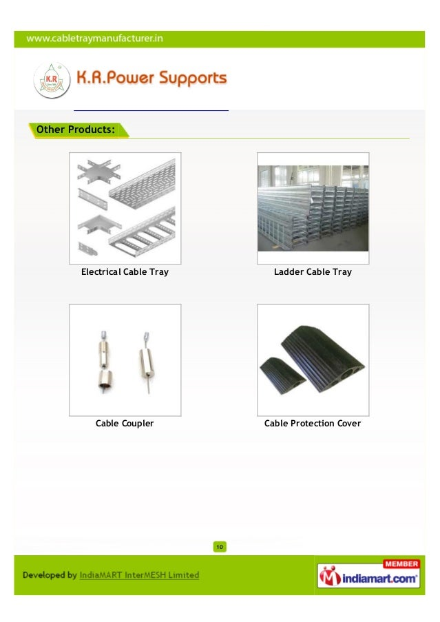 Other Products:        Electrical Cable Tray          Ladder Cable Tray           Cable Coupler             Cable Protecti...