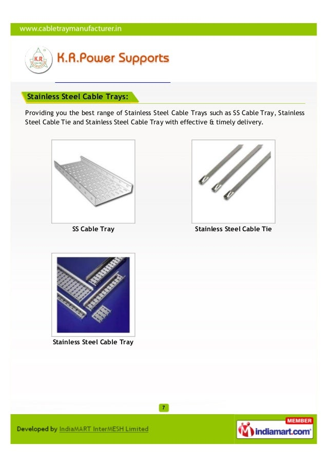 Stainless Steel Cable Trays:Providing you the best range of Stainless Steel Cable Trays such as SS Cable Tray, StainlessSt...