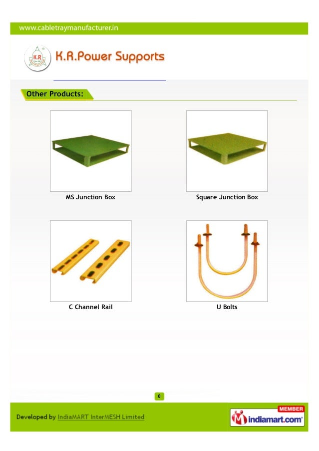 Other Products:          MS Junction Box   Square Junction Box           C Channel Rail         U Bolts