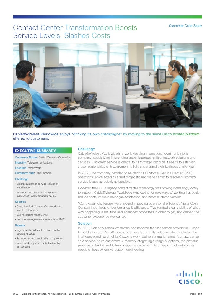 Contact Center Transformation Boosts                                                                                      ...