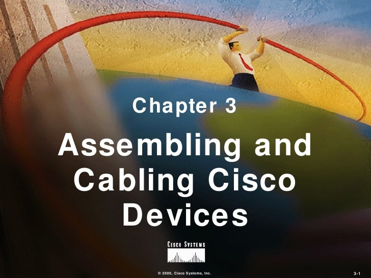 Chapter 3Assembling and Cabling Cisco   Devices      © 2000, Cisco Systems, Inc.   3-1