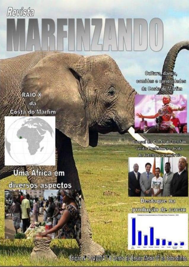 Marfinzando Sumário 1. Introdução ao leitor 2. Raio X 3. Um pouco mais de historia 4. Uma África em diversos aspectos 5. A...
