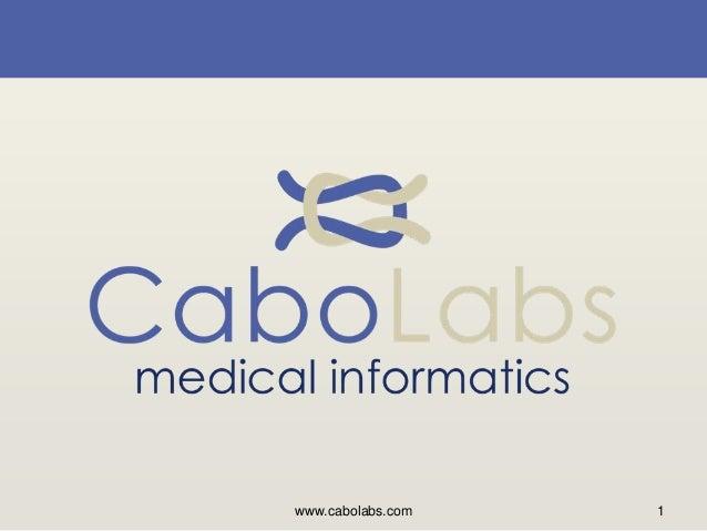 www.cabolabs.com 1