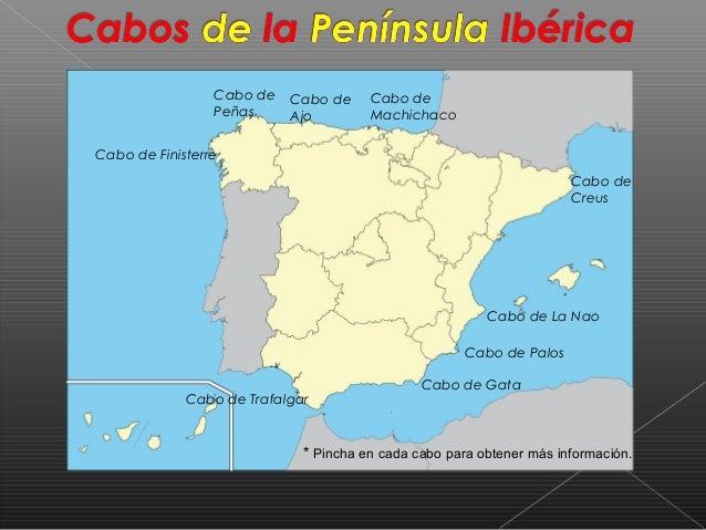 Cabo De Machichaco Mapa.Cabos De La Peninsula Iberica Alex Y David