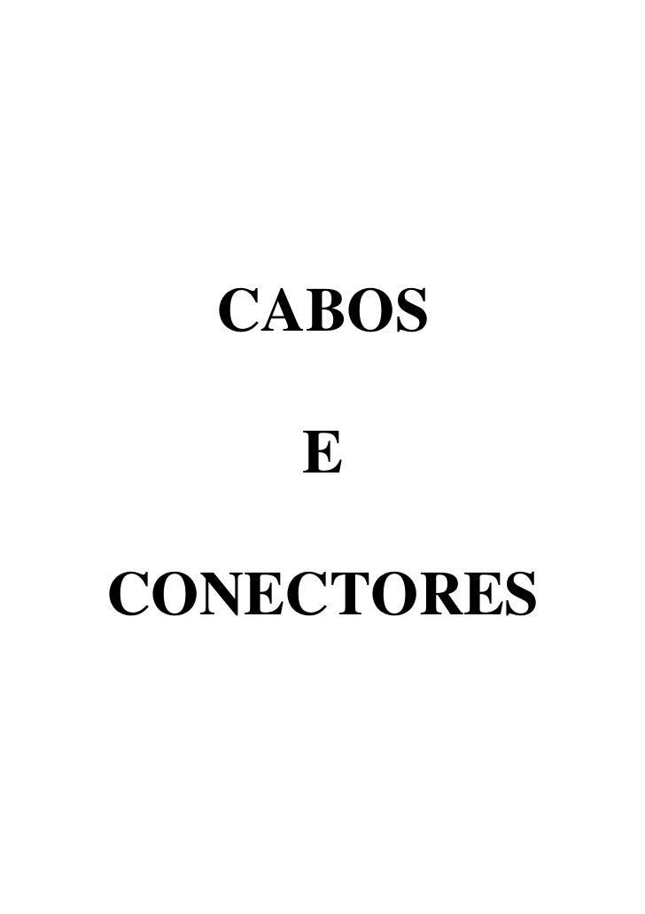CABOS    ECONECTORES