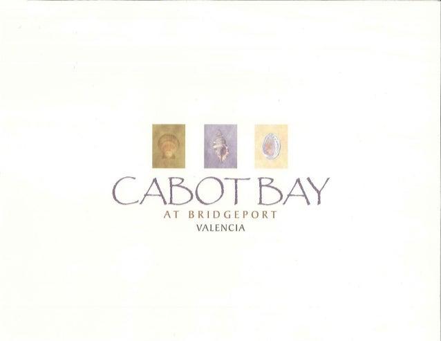 Cabot Bay in Bridgeport of Valencia Floor Plans