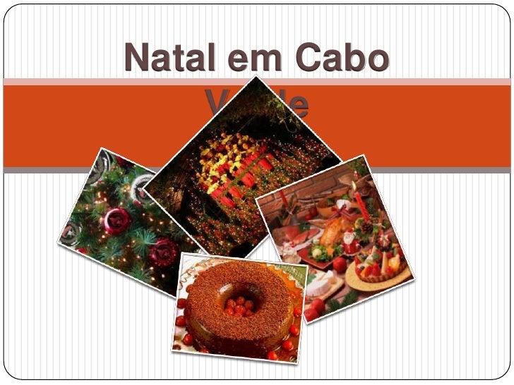 Natal em Cabo Verde<br />