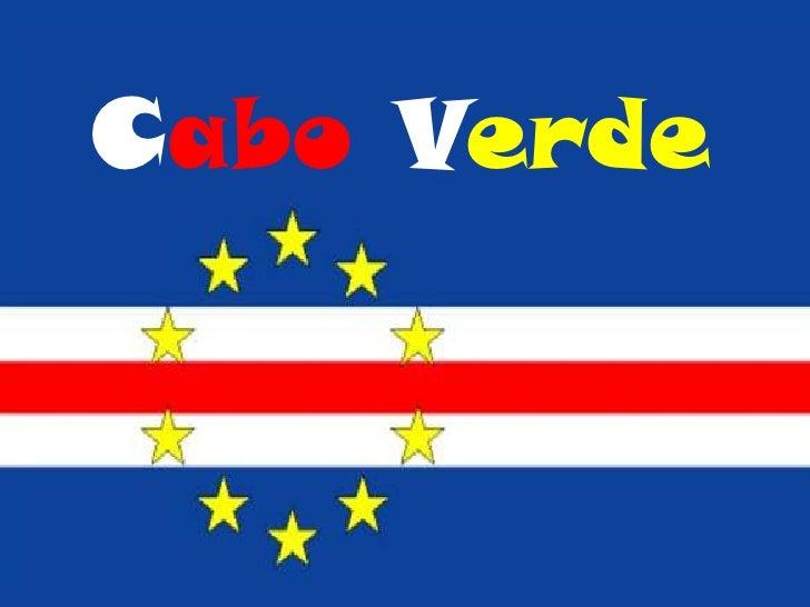 CaboVerde<br />