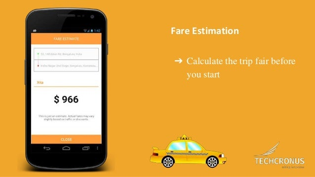 Ride sharing app like Uber (Taxi Booking App)