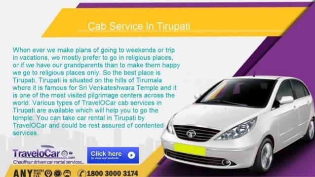 Cab service in tirupati