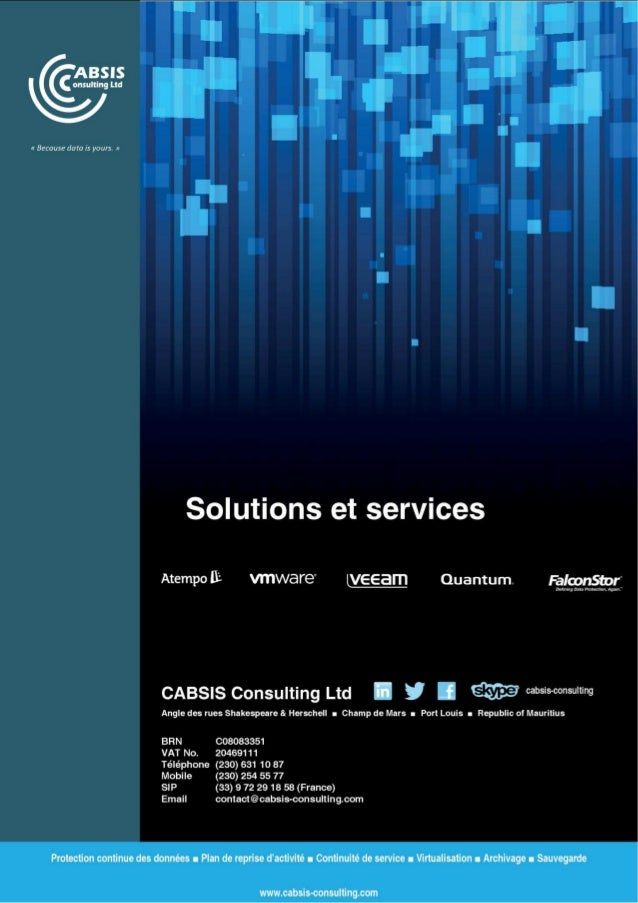 CABSIS Consulting Data Protection (Fr)