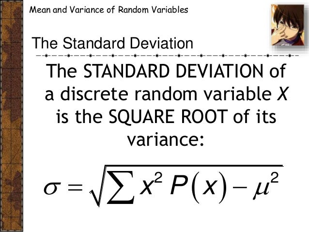 Cabt shs statistics probability expected value and variance of di standard deviation 10 ccuart Images