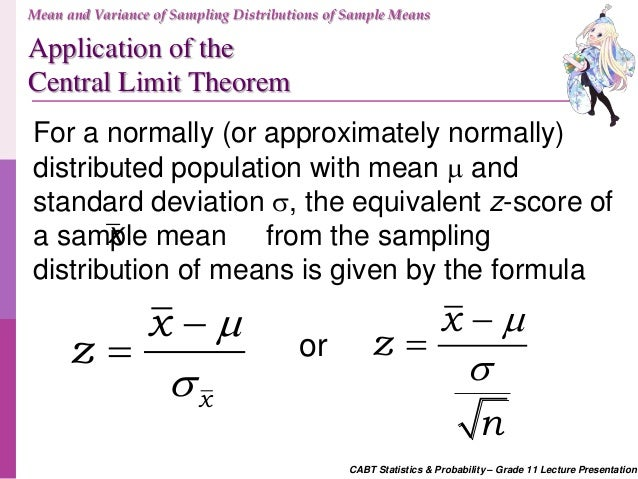 sample mean definition