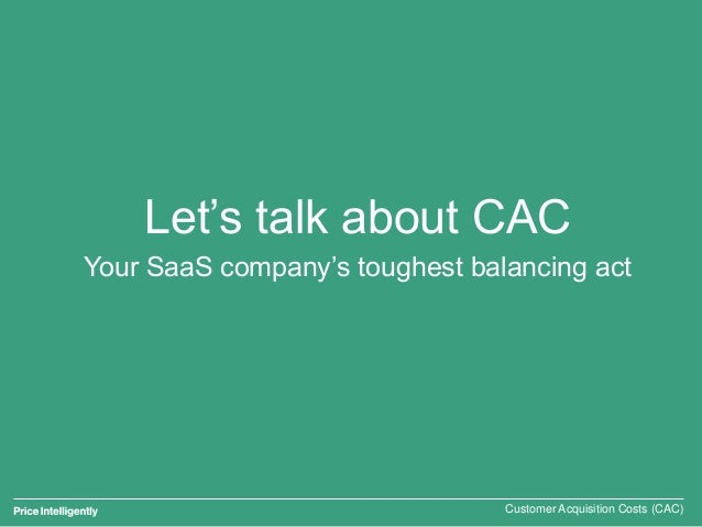 SaaS CAC: How to calculate and optimize Slide 2
