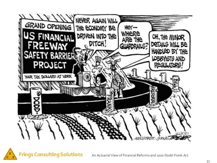 dodd frank act essay Securitization and post-crisis financial regulation  1 this essay will use the broader term,  primarily embodied in the dodd-frank act and in part.