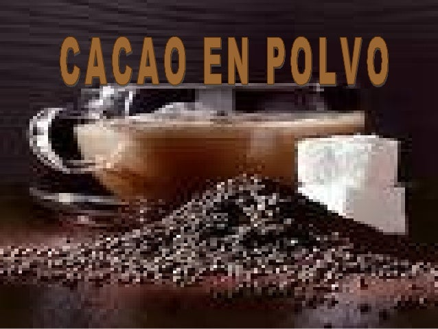 """Art 1442: """"Con el nombre de cacao en polvo, se entiende el producto que se obtiene mediante transformación mecánica a un e..."""