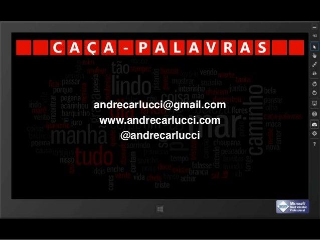 Caça-Palavras for Windows Phone / Windows 8 Slide 2