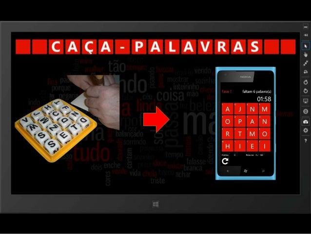 Caça-Palavras for Windows Phone / Windows 8 Slide 3