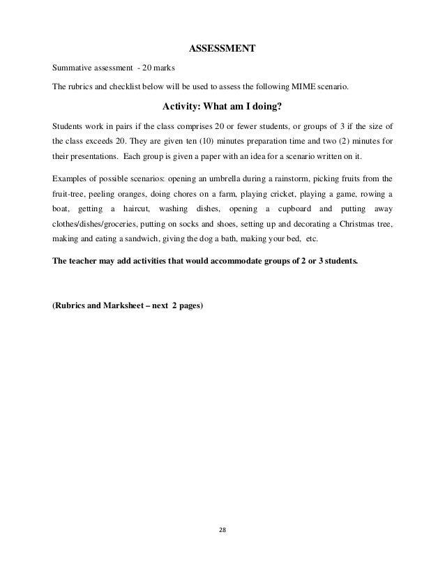 CAC Teachers Manual Drama – Christmas Preparation Checklist