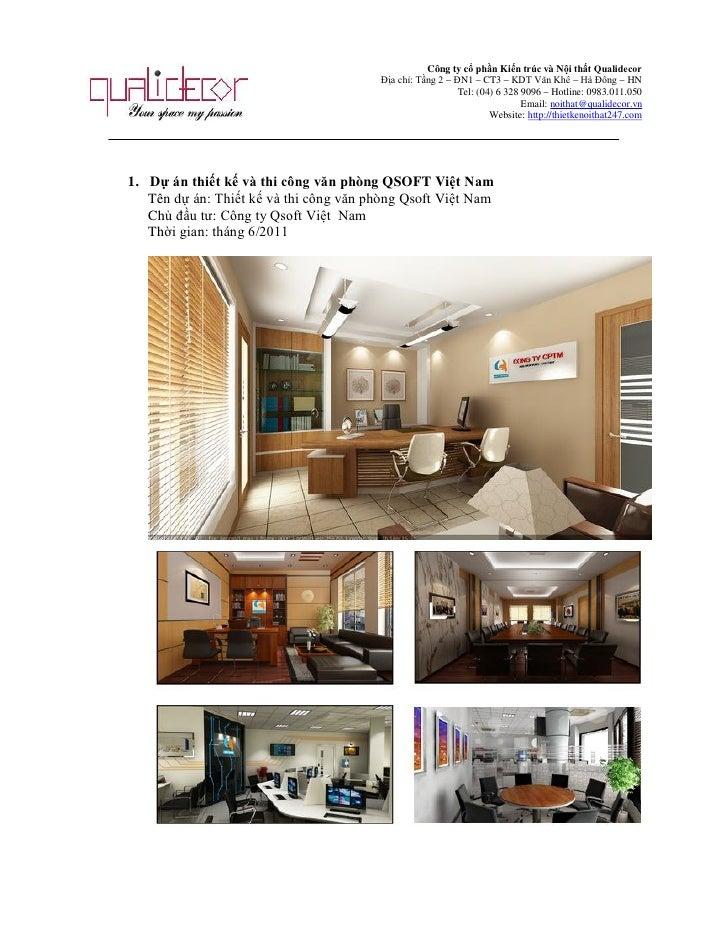 Công ty Cổ phần kiến trúc và nội thất Qualidecor